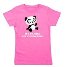 pandaHomeworkA Girl's Tee