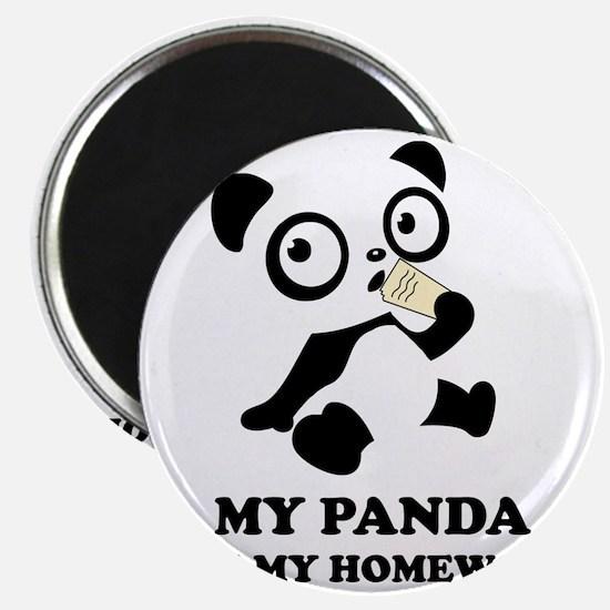 pandaHomeworkB Magnet