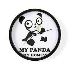 pandaHomeworkB Wall Clock