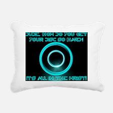 How Do You Get Your Disc Rectangular Canvas Pillow