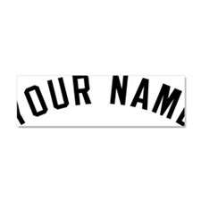YOUR NAME Car Magnet 10 x 3