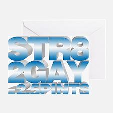 str82gay Greeting Card