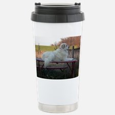 Great Pyrenees Stainless Steel Travel Mug
