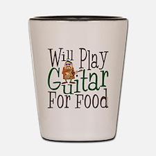 WP Guitar Shot Glass
