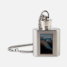 Mont Blanc - Bossons Flask Necklace