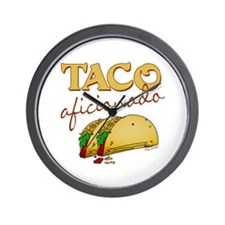 Taco Wall Clock