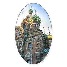 St. Petersburg Cathedral Decal