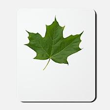 TrueNorth-greenLeaf-whiteLetters copy Mousepad