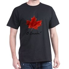 O_Canada_red_blackLetters copy T-Shirt