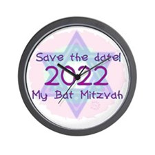 save_the_date_2022 Wall Clock