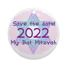 save_the_date_2022 Round Ornament