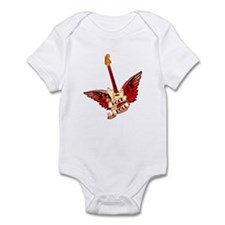 Rock & Roll Guitar - Red Infant Bodysuit