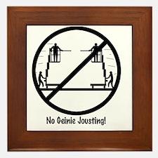 GeinieJoustwhite Framed Tile