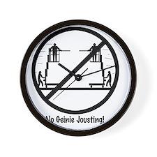 GeinieJoustwhite Wall Clock