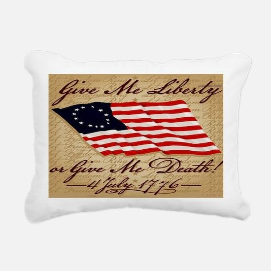11x17_4_July_1776 Rectangular Canvas Pillow