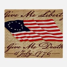 11x17_4_July_1776 Throw Blanket