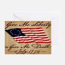 11x17_4_July_1776 Greeting Card