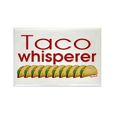 Taco Whisperer Rectangle Magnet (100 pack)