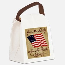 10x10_4_July_1776 Canvas Lunch Bag