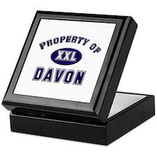 Property of davon Keepsake Box