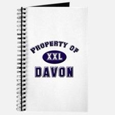 Property of davon Journal