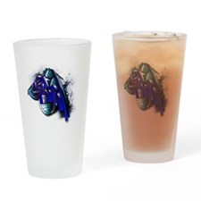 Israelgraffiti Drinking Glass