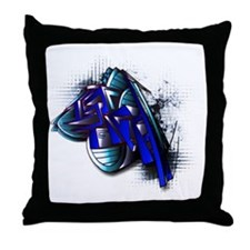 Israelgraffiti Throw Pillow