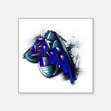 "Israelgraffiti Square Sticker 3"" x 3"""
