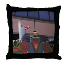 Armadillo Overhead Throw Pillow