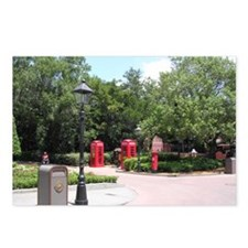 English Phonebooth Postcards (Package of 8)