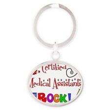 CMAs Rock with Equip Oval Keychain
