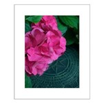 Pink Flowers Small Poster