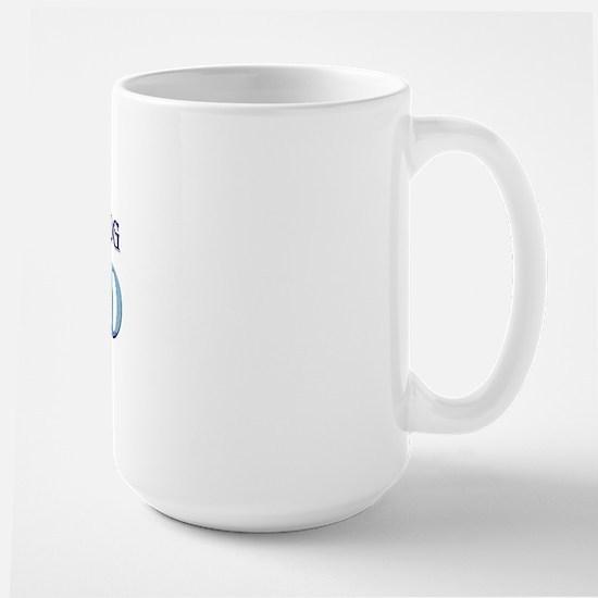 Bulldog - MyPetDoodles.com Large Mug