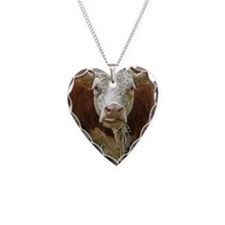 Miniature Hereford Necklace