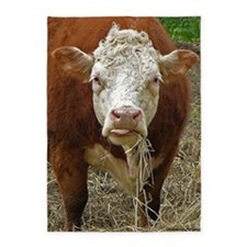 Miniature Hereford 5'x7'Area Rug