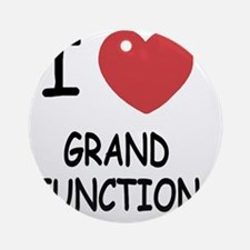 GRAND_JUNCTION Round Ornament