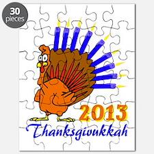 Thanksgivukkah 2013 Menurkey Puzzle