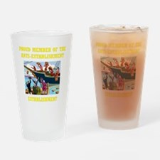 IDEPENDENCE DAY Tea Party Drinking Glass