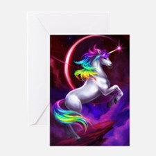 4.5x6.5_unicorndream Greeting Card