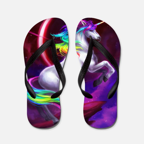 16x20_unicorndream Flip Flops
