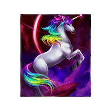 11x17_unicorndream Throw Blanket