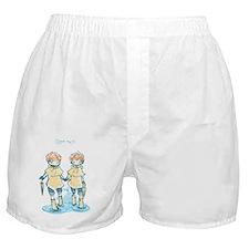 rain twins june 24 2011 Boxer Shorts