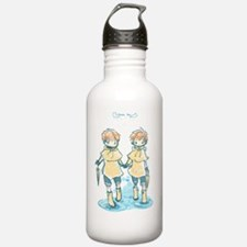 rain twins june 24 201 Water Bottle