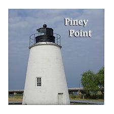 Piney Point Tile Coaster