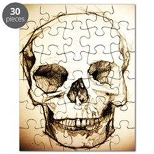 9.5x8_sketchskull Puzzle