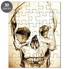 11x17_sketchskull Puzzle