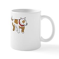 Stop_Staring_Reverse White Mug