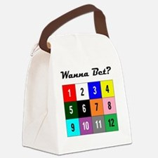 WannaBet10x10 200px Canvas Lunch Bag