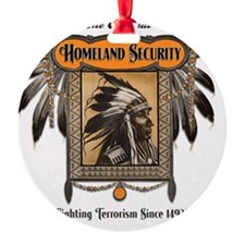 Homeland Security Ornament