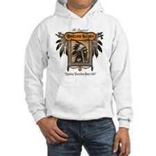 Homeland Security - dark backgro Hoodie